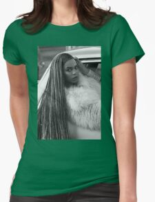 Ok ladies, now let's get in formation!  Womens Fitted T-Shirt