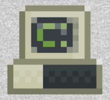 Pixel IBM PC Baby Tee