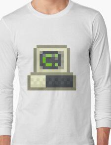 Pixel IBM PC Long Sleeve T-Shirt