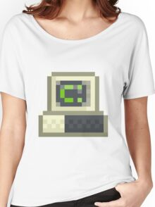 Pixel IBM PC Women's Relaxed Fit T-Shirt