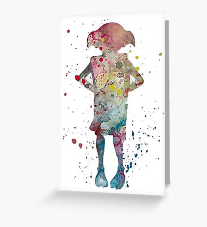 dobby real best friend Greeting Card