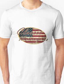 Classic USA Motorcycles Design T-Shirt