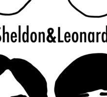 Men of Big Bang Theory Sticker