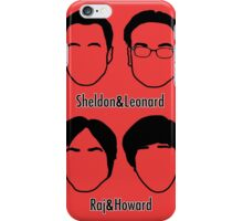 Men of Big Bang Theory iPhone Case/Skin