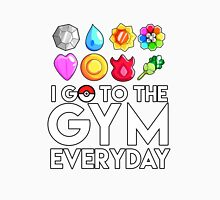Pokemon - I GO TO THE GYM EVERY DAY - Transparent Unisex T-Shirt