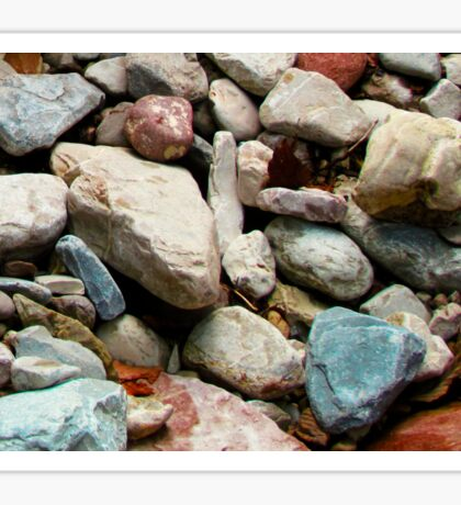 Colorful stones Sticker