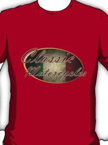 Classic Italian Motorcycle Design T-Shirt