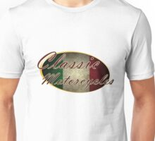 Classic Italian Motorcycle Design Unisex T-Shirt
