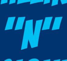 Chilling N Designing Sticker