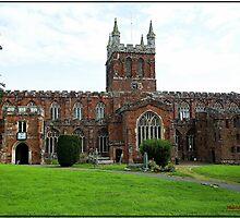 The Church of Crediton Devon. by mrcoradour