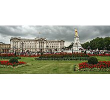 Long View of Buckingham Palace Photographic Print