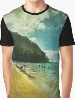A Day At The Beach Graphic T-Shirt