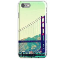 Lazy San Francisco Afternoon Gazing Upon The Golden Gate Bridge iPhone Case/Skin