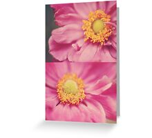 Anemone Diptych Greeting Card