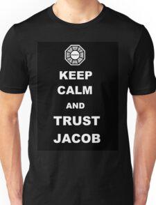 Keep Calm and Trust Jacob Unisex T-Shirt