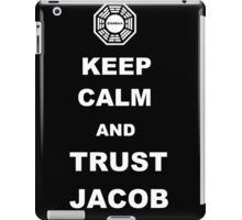 Keep Calm and Trust Jacob iPad Case/Skin