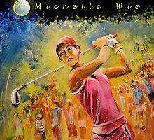 Michelle Wie Tote Bag by Goodaboom