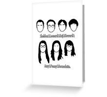 Everyone - Big Bang Theory Greeting Card