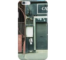 4 Todd Street, Manchester iPhone Case/Skin