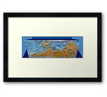 Europe Down Under Framed Print