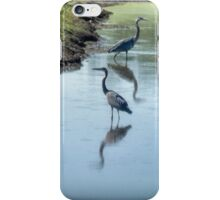 Sharing the River iPhone Case/Skin