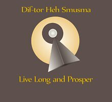 "Live Long and Prosper Vulcan Language ""Dif-tor Heh Smusma"" Unisex T-Shirt"