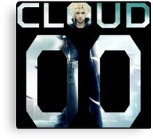 <FINAL FANTASY> Cloud 00 Canvas Print