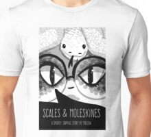 Scales & Moleskines cover art Unisex T-Shirt