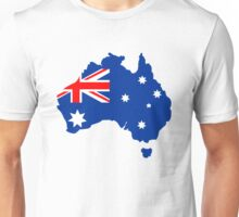 Map of Australia Unisex T-Shirt