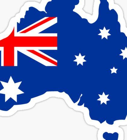 Map of Australia Sticker