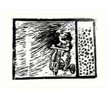 Lino The Bear  Art Print