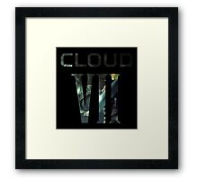 <FINAL FANTASY> CLOUD VII Framed Print