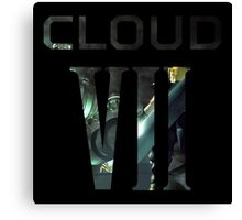 <FINAL FANTASY> CLOUD VII Canvas Print