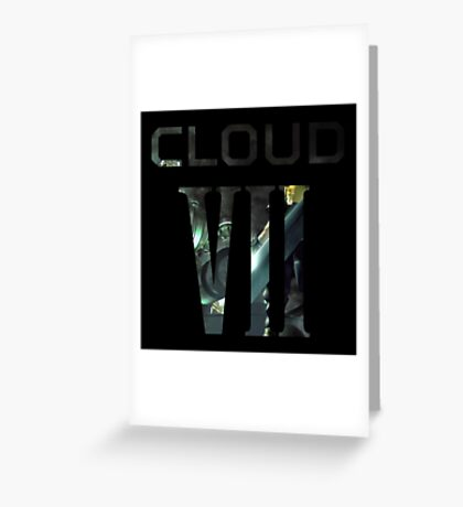 <FINAL FANTASY> CLOUD VII Greeting Card