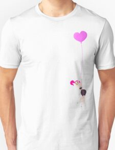Mitzi Heart Balloon Unisex T-Shirt