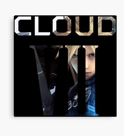 <FINAL FANTASY> Cloud VII Canvas Print