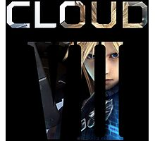 <FINAL FANTASY> Cloud VII Photographic Print