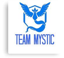 Pokemon Go - Team Mystic Edit Canvas Print