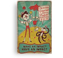 Vintage Penfield Croquet Ball Poster Canvas Print