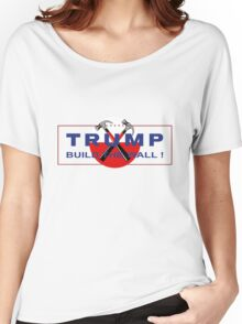 Trump & Pink - Build The Wall! Women's Relaxed Fit T-Shirt