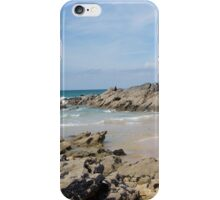 Rockpools at Fistral Beach iPhone Case/Skin