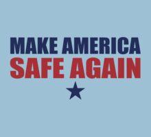 Make America Safe Again One Piece - Short Sleeve