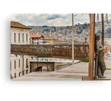 Square at Historic Center of Quito Ecuador Canvas Print
