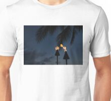 Of Tiki Torches, Palm Trees and Beach Parties Unisex T-Shirt