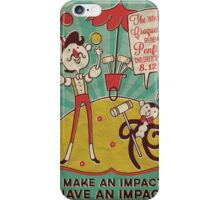 Vintage Penfield Croquet Ball Poster iPhone Case/Skin