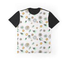 Floral Watercolor Doodles Graphic T-Shirt