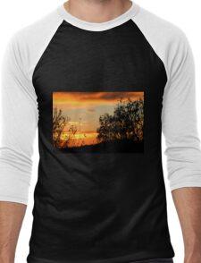 The Sunrise  Men's Baseball ¾ T-Shirt