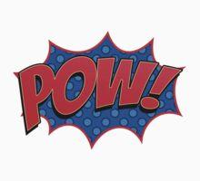 Pow! Comic Book Sound Effect Kids Tee