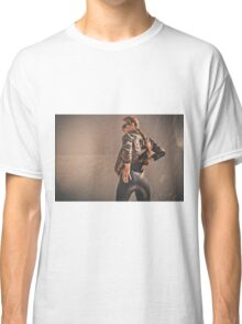 Retro Action Movie Star Classic T-Shirt