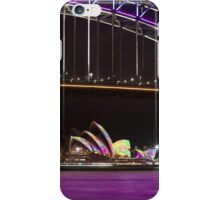 Purple Harbour, coloured sails iPhone Case/Skin